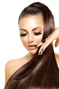 sleek hair at exceed hair salons in Halifax & Bradford