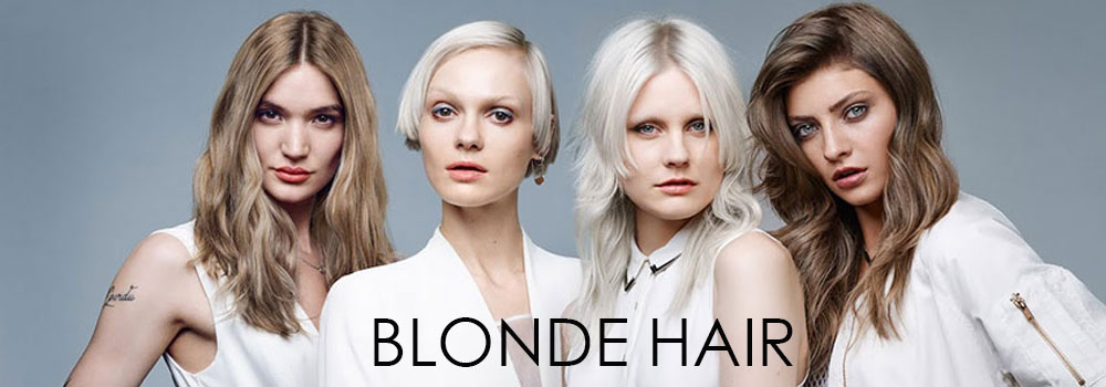 BLONDE-HAIR colour at Exceed hair salons
