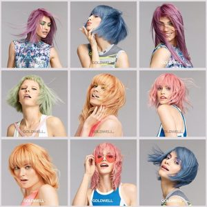 crazy hair colours at exceed hair salons